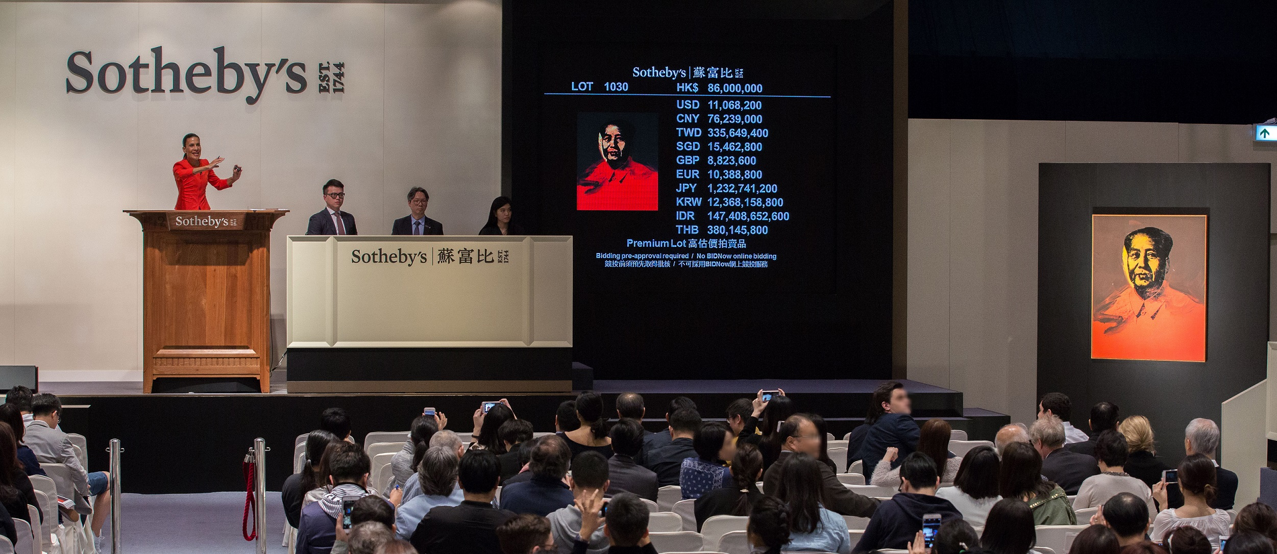 Sothebys Auction Results >> Sotheby S Hong Kong Spring 2017 Modern And Contemporary Art Evening